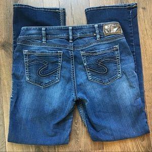 Silver Jeans Suki Slim Mid Boot 30x31